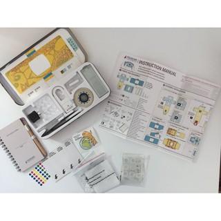 Foldscope Deluxe hộp thép Kính hiển vi