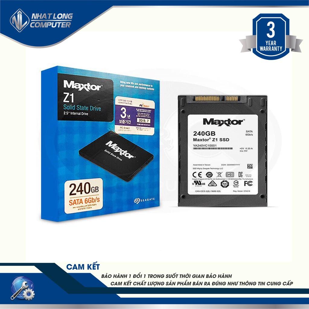Ổ cứng SSD Seagate Maxtor Z1 240Gb bảo hành 3 năm