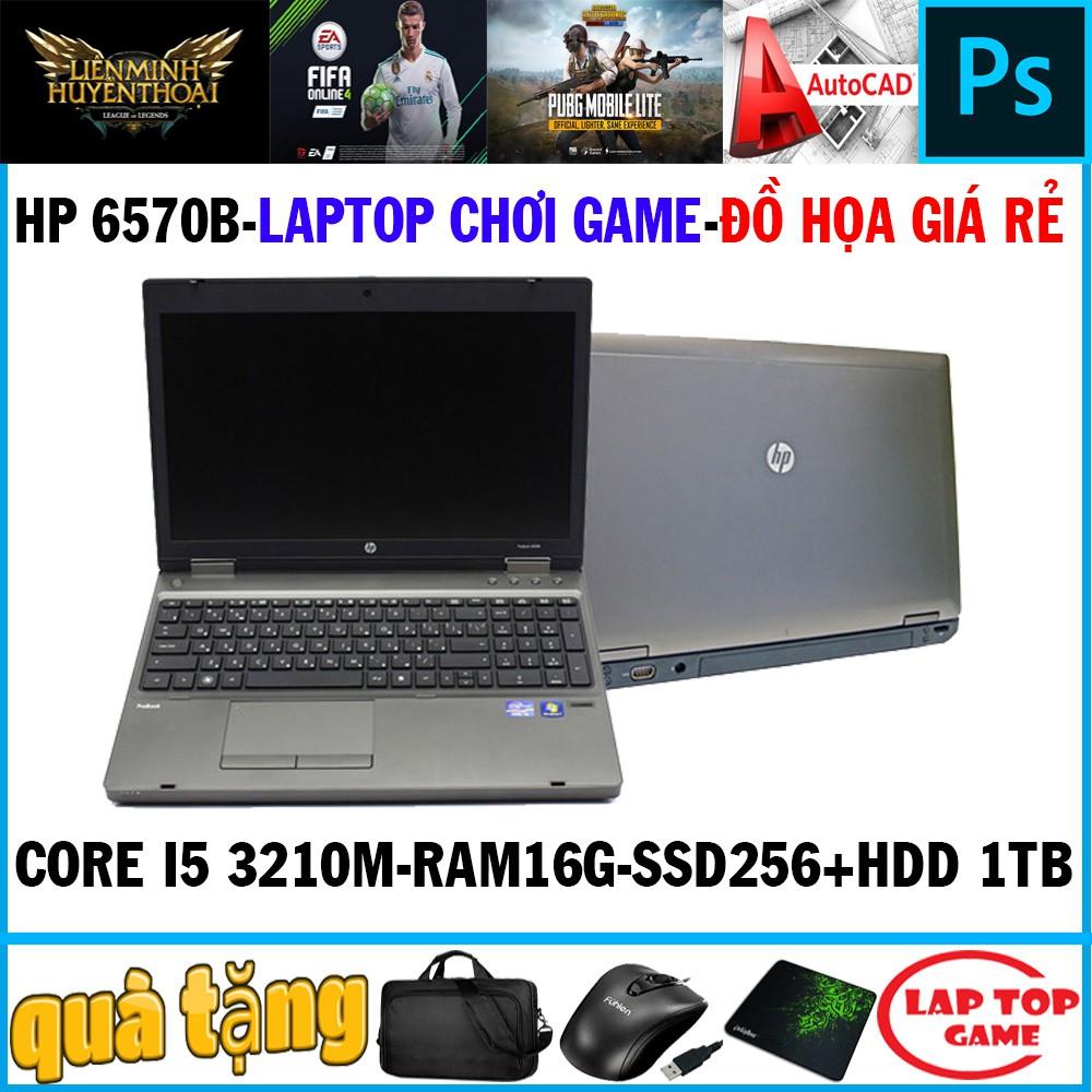 Laptop HP Probook 6570b (i5-3230M, 8G, 256G, 15.6IN) chơi fifa 4, pubg mobile , laptop