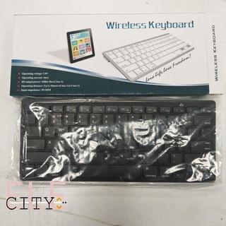 Bàn Phím Không Dây 6ele Cho Apple Mac Ipad 1 2 3 4 & Android Tablet Pc thumbnail