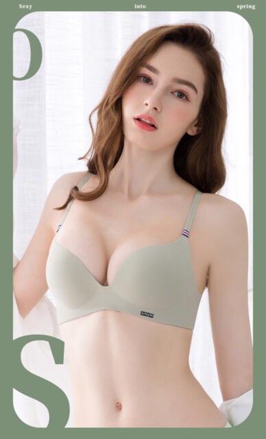 Siêu phẩm áo lót đúc không gọng đẩy ngực xuất Nhật Justyle