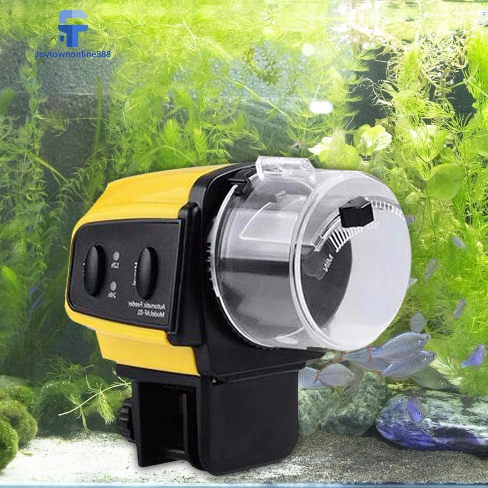 Joe✰ Automatic Aquarium Timer Feeder Electric Auto Fish Tank Food Dispenser Tool