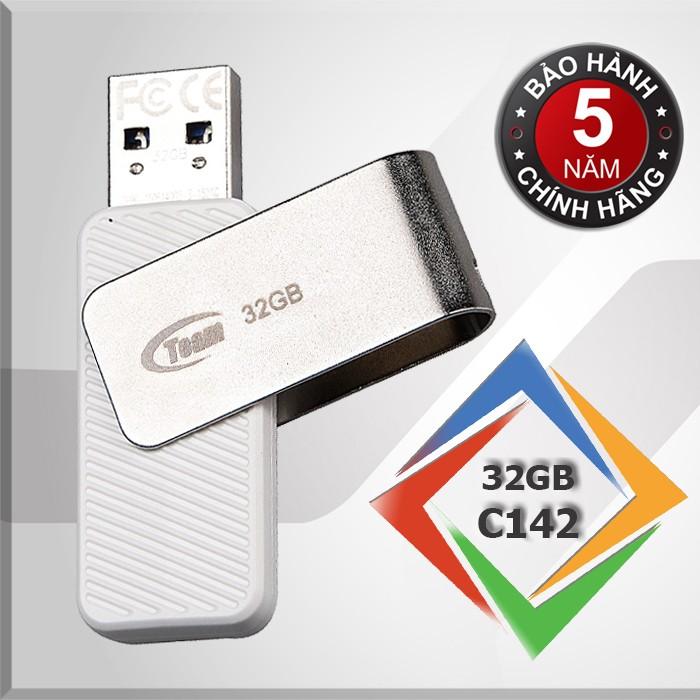 USB 2.0 32gb TAIWAN TEAM GROUP C142 - Hãng phân phối chính thức