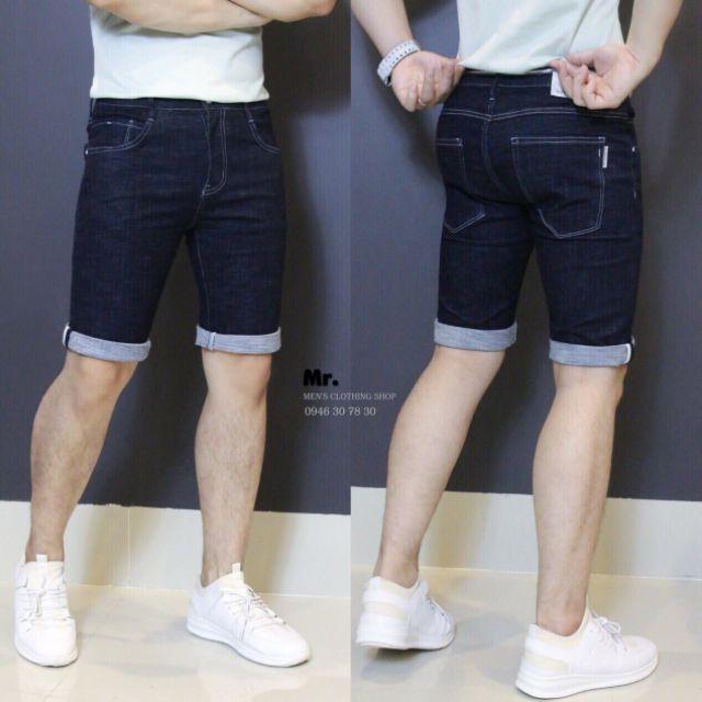 Quần short jean nam thời trang ak012