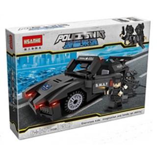 Lắp ráp Lego xe tuần tra đặc nhiệm SWAT