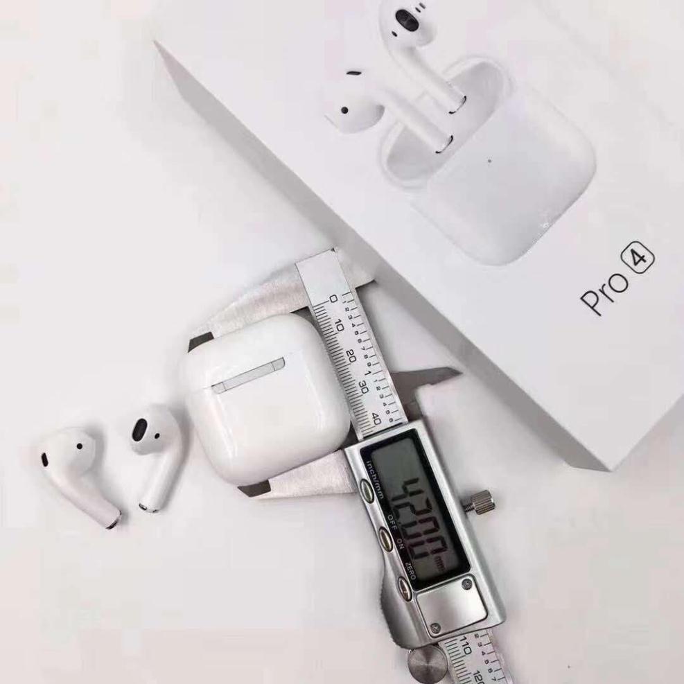 Tai Nghe Blutooth Iphone Pro 4 Phiên Bản Nâng Cấp 2020 Kết Nối Không Dây Love.Case