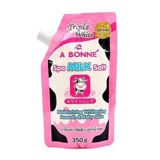 Muối tắm sữa bò tẩy tế bào chết A Bonne Spa Milk Salt Thái Lan 350gr thumbnail