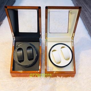 SIÊU PHẨM (hộp đựng đồng hồ cơ 2 xoay màu cam thumbnail
