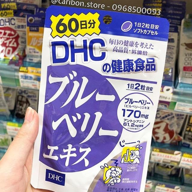 Viên uống DHC việt quất