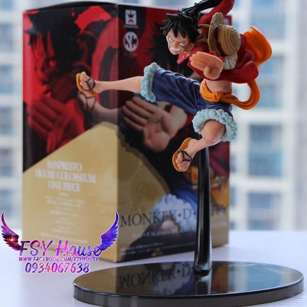 Mô Hình Figure Luffy - One Piece (Cao 18cm)