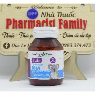 Healthycare DHA For Kid [Úc] – DHA Cho Bé – 60 Viên