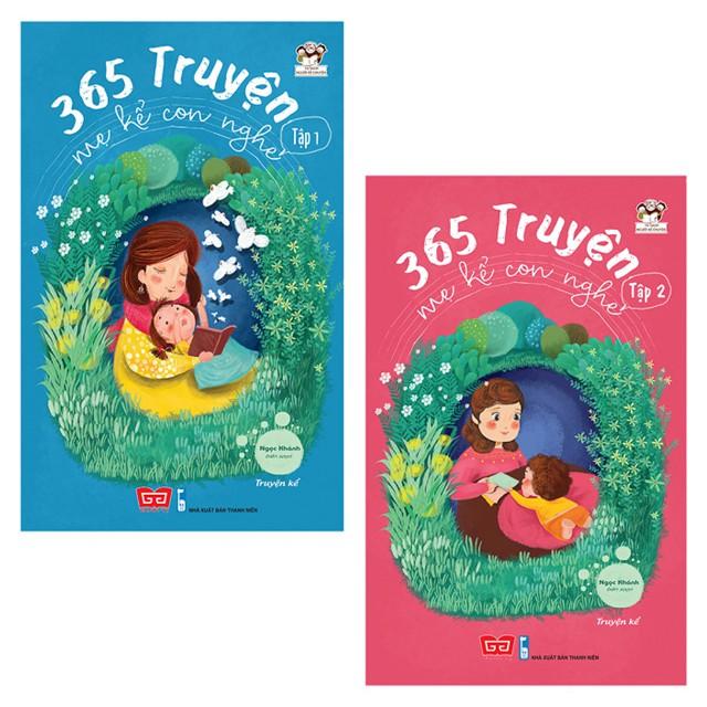 Sách - Combo 2 cuốn 365 Truyện Mẹ Kể Con Nghe (Tái bản 2018)