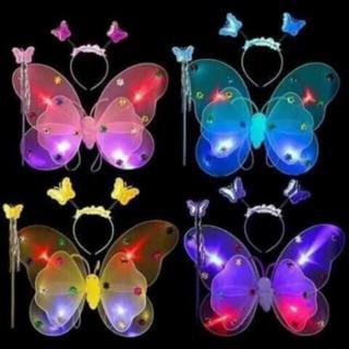 Bộ cánh bướm có đèn cho bé