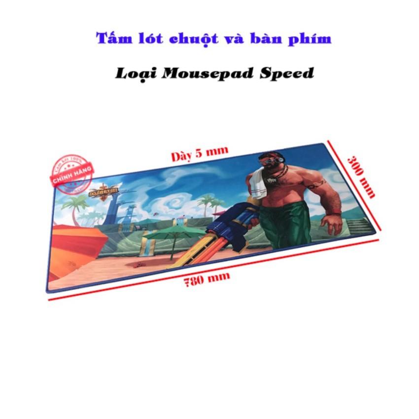 Tấm lót chuột và bàn phím chơi game S8 - Loại Mousepad Speed
