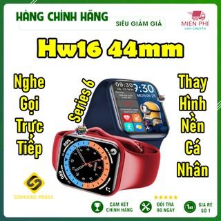 Đồng Hồ Thông Minh Hw16 Size 44m Màn Hình Tràn Viền 1.72 inch - Nghe gọi Bluetooth - Thay Hình Nền Cá Nhân