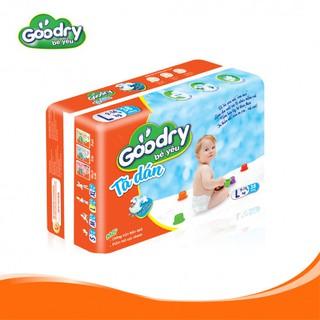 Bỉm Tã dán Goodry L38 bên bé yêu mỗi bước đầu đời