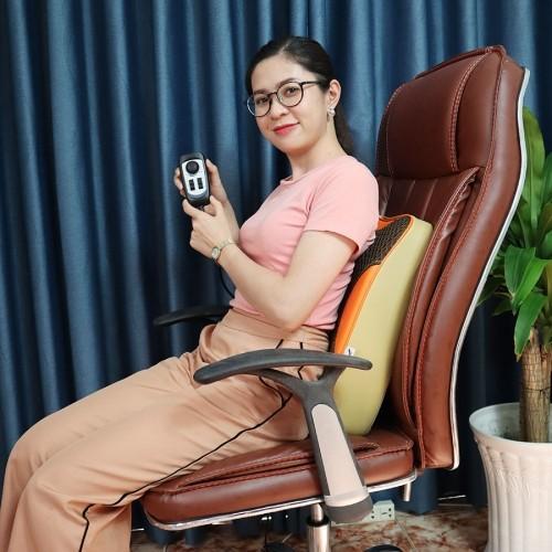 Máy Massage Lưng Hồng Ngoại 8 Bi Puli PL-803A-W Cao Cấp