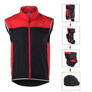 ARSUXEO Men's Sleeveless Coat Jacket