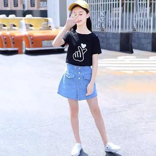 Áo thun cho Bé Gái tới Size Đại. Áo phông cotton cao cấp 2021 cho bé 8-14 tuổi Beeshop H21051