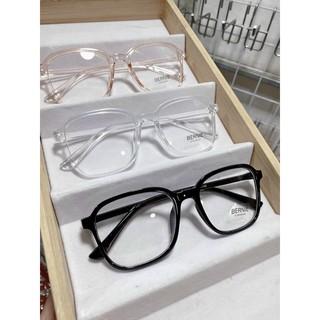 (Full hộp) Kính mắt 0 độ, Kính trắng, gọng kính cận full hộp
