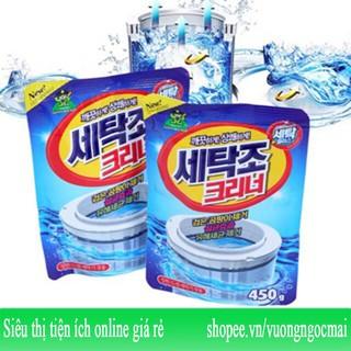 Yêu ThíchBột vệ sinh tẩy lồng máy giặt Hàn Quốc 450gram Sandokkaebi