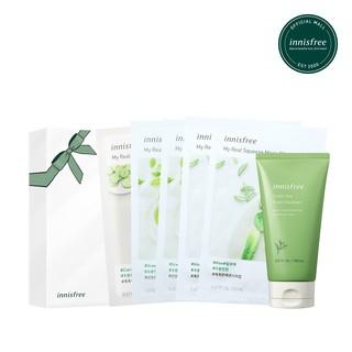 Hình ảnh Bộ sản phẩm chăm sóc dưỡng ẩm innisfree Green Tea Set-0
