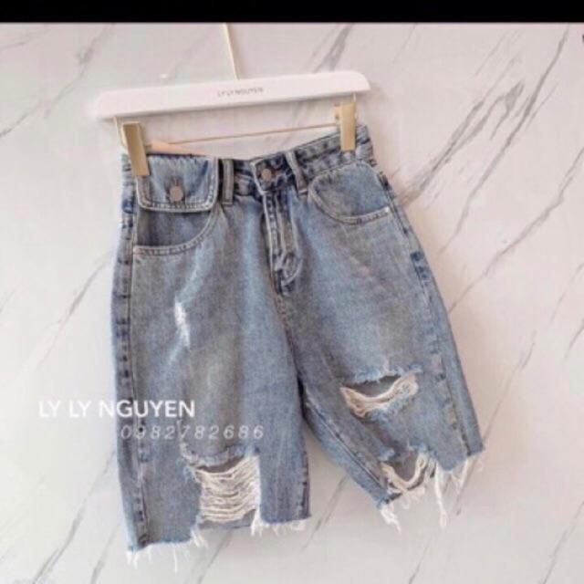 Quần Jeans Nữ Ngố Túi Nắp ( Hình Thật)❤️