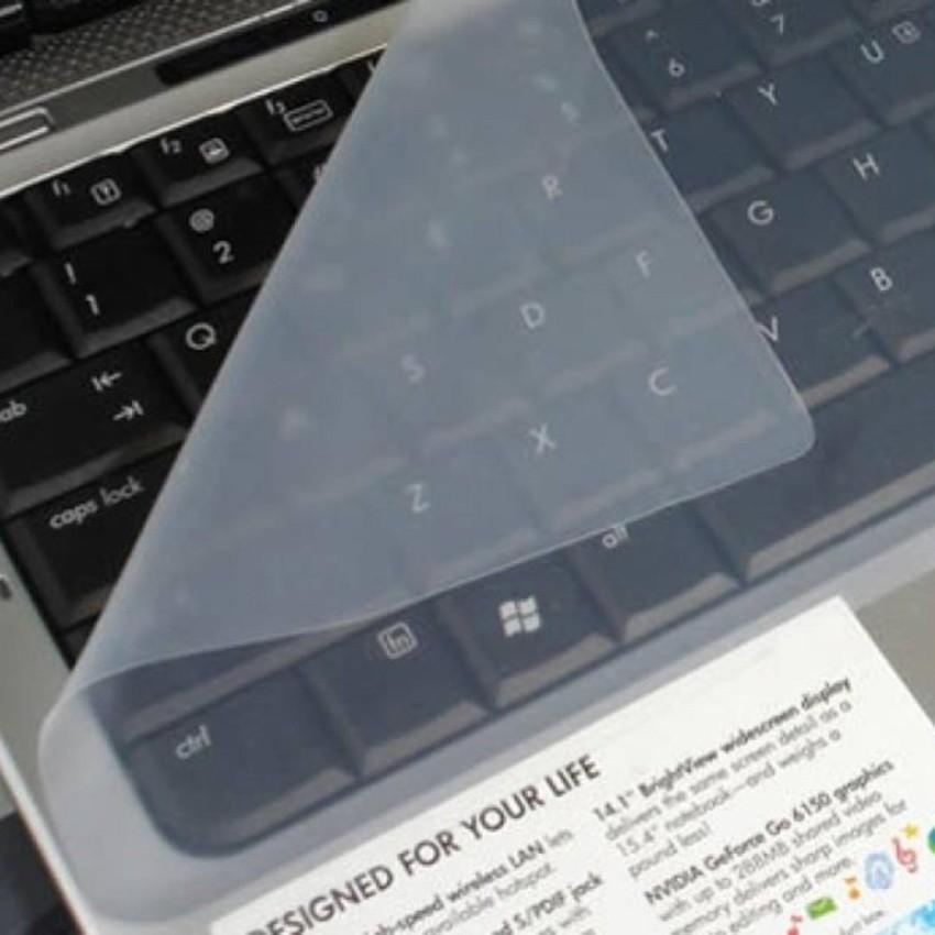 Tấm Dán Bàn Phím Silicon Cho Laptop 14-15 inch, Chống Bụi, Tràn Chất Lỏng