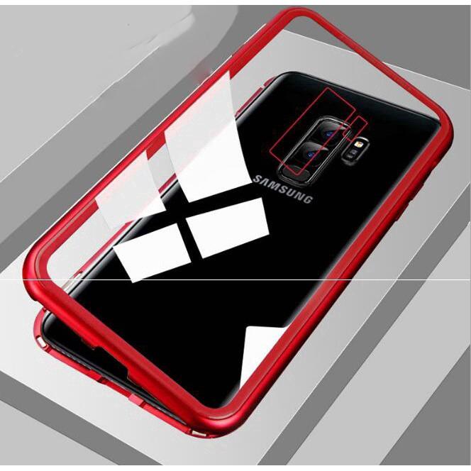 Ốp lưng nắp gập có nam châm cho Samsung Galaxy S8 S9 Plus