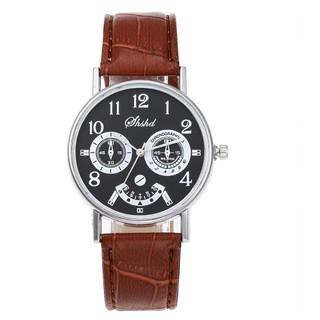 [MỎNG, NHẸ] Đồng hồ nam dây da SHSHD đẳng cấp thời trang thumbnail
