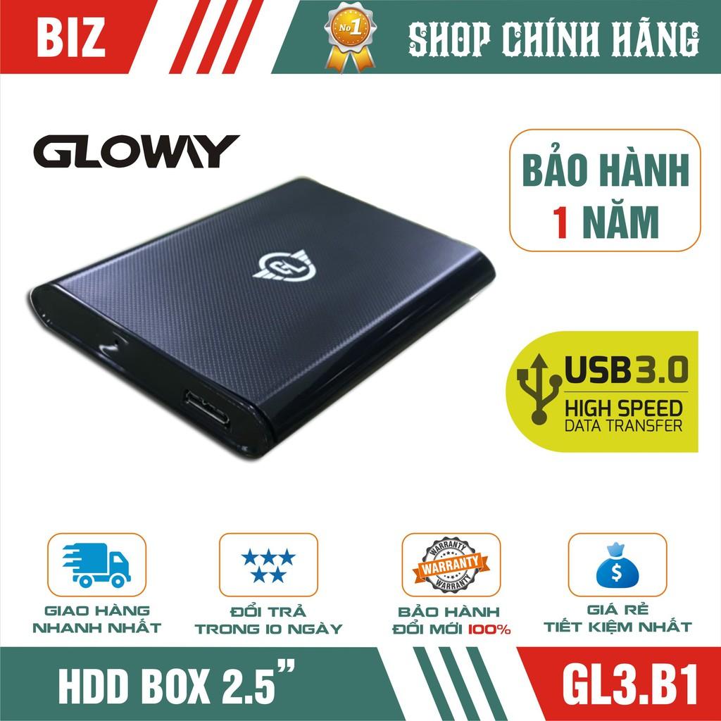 Hộp đựng ổ cứng HDD BOX SATA 3 USB 3.0 Gloway GL3.B1 Giá chỉ 89.000₫