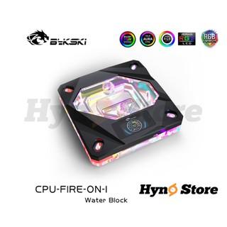 Block CPU Intel Bykski kèm đồng hồ hiển thị nhiệt độ màu Thiết kế mới Tản nhiệt nước custom - Hyno Store thumbnail