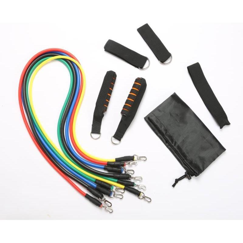 Bộ dây cao su đần hồi kháng lực ngũ sắc 11 món tập gym tiện ích - 3457124 , 1339213271 , 322_1339213271 , 198000 , Bo-day-cao-su-dan-hoi-khang-luc-ngu-sac-11-mon-tap-gym-tien-ich-322_1339213271 , shopee.vn , Bộ dây cao su đần hồi kháng lực ngũ sắc 11 món tập gym tiện ích