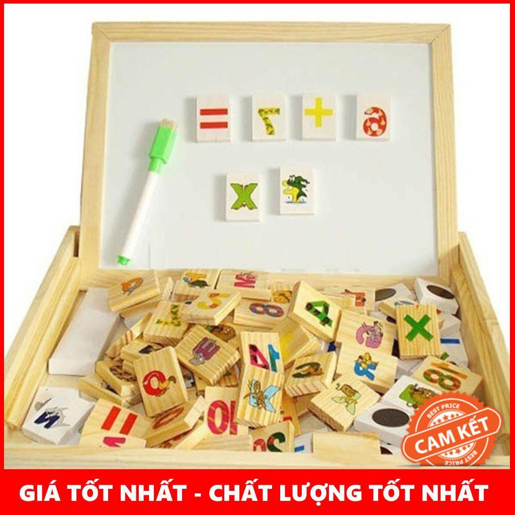 Bảng gỗ 2 mặt dạy bé học toán – SIÊU CHẤT LƯỢNG