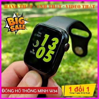 Đồng Hồ Thông Minh W34 Pro SERI 4 Thông Minh Đa Chức Năng ( Hàng FULLBOX Bảo Hành 12 Tháng )