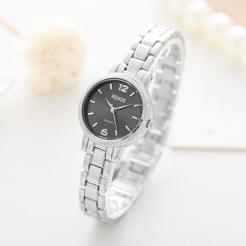 Đồng hồ nữ RENOS dây thép không gỉ viền bạc thiết kế đơn giản trẻ trung 3 màu RN954 - 3466478 , 969432267 , 322_969432267 , 200000 , Dong-ho-nu-RENOS-day-thep-khong-gi-vien-bac-thiet-ke-don-gian-tre-trung-3-mau-RN954-322_969432267 , shopee.vn , Đồng hồ nữ RENOS dây thép không gỉ viền bạc thiết kế đơn giản trẻ trung 3 màu RN954