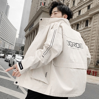 Men's Casual Jacket, Autumn and Winter Korean Style All-match Trendy Overalls