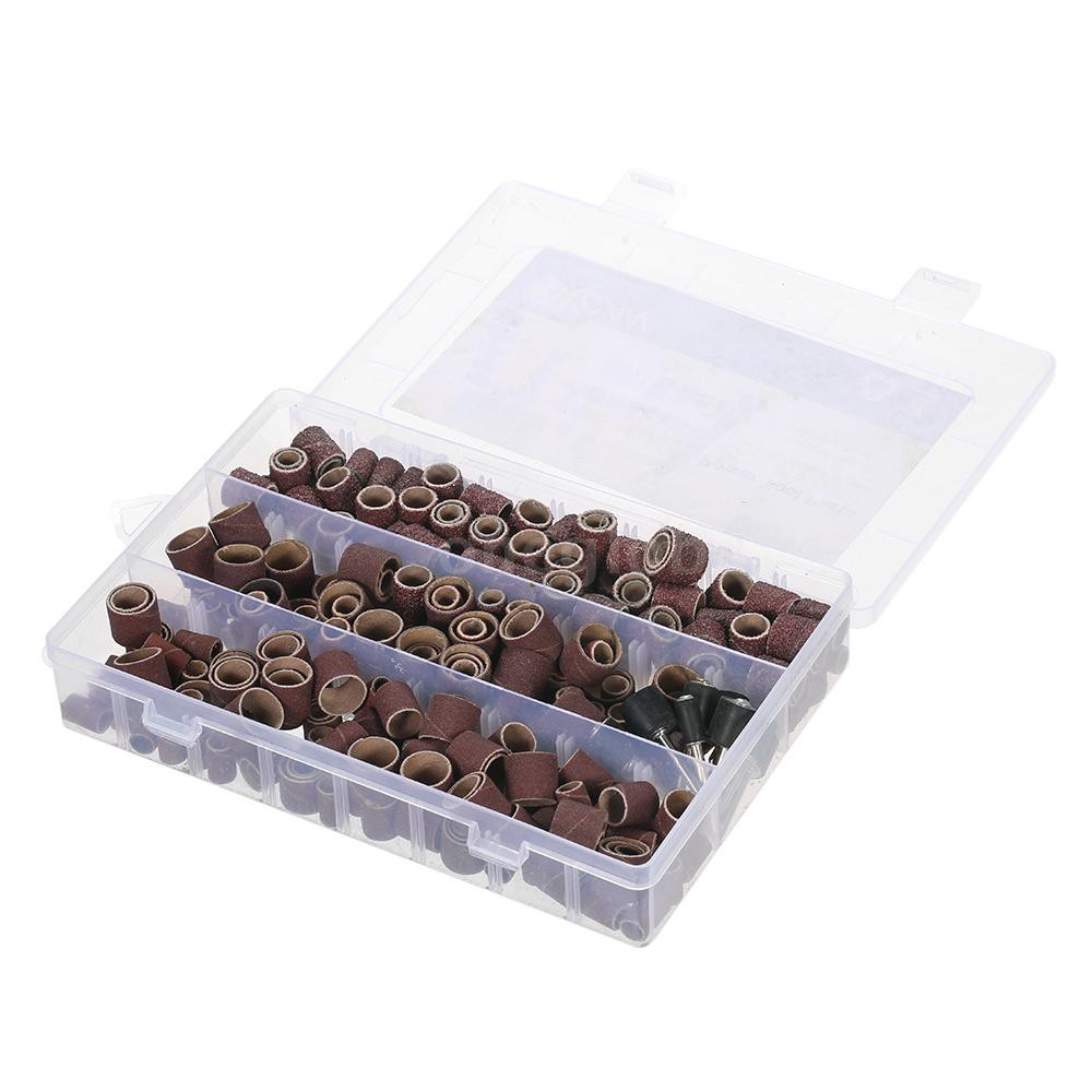 O&G 338pcs Rotary Tool Accessories Set Sanding Grinding Polishing Accessory Kit with Storage Box