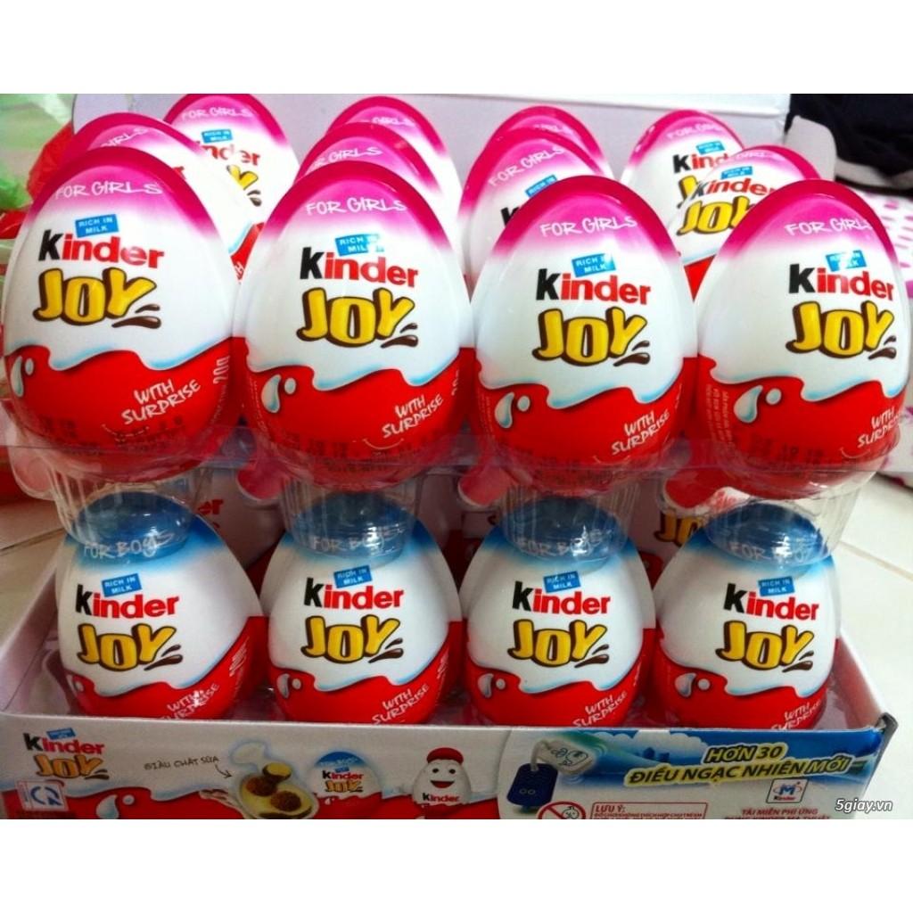 Sỉ 144 quả Trứng Kinder Joy Ấn Độ