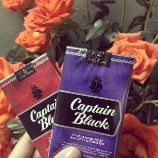 Captain black nho và cherry