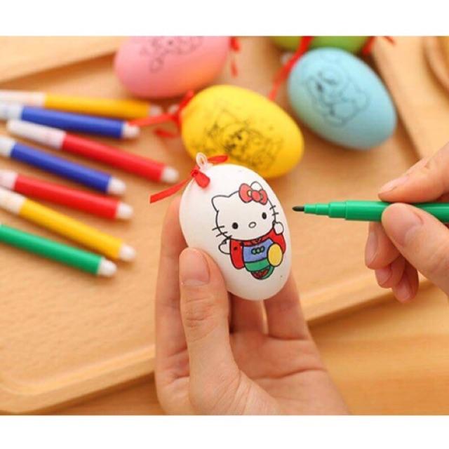 Bộ đồ chơi quả trứng tô màu