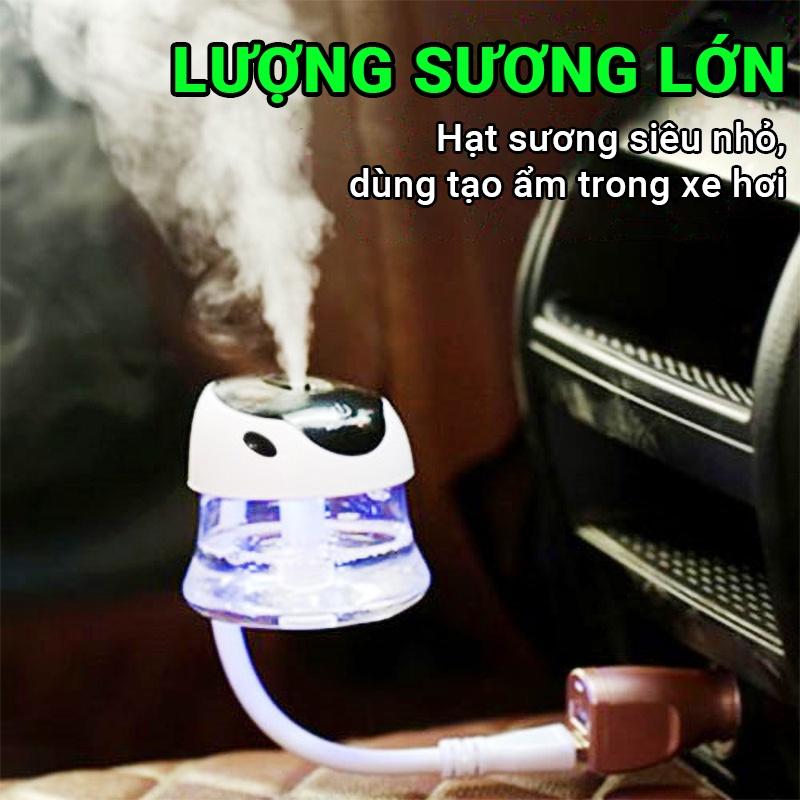Máy tạo ẩm thao tác bằng cảm ứng Cát Thái XJL-80 dung tích 80ml lượng sương lớn hạt sương siêu nhỏ, âm thanh yên tĩnh