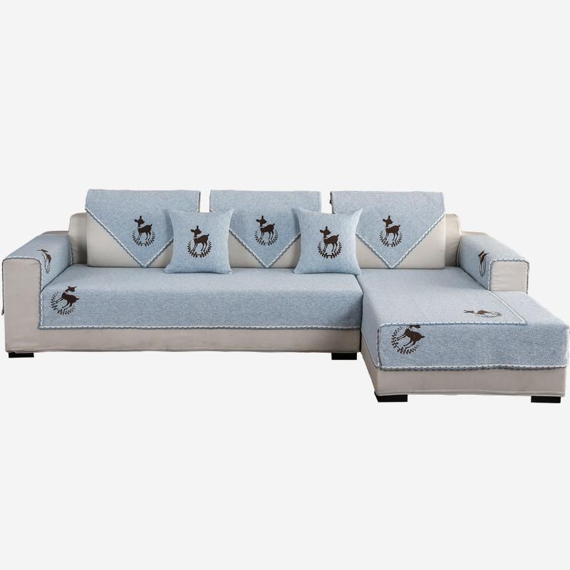 Thảm Bọc Ghế Sofa Chống Trượt Phong Cách Hiện Đại
