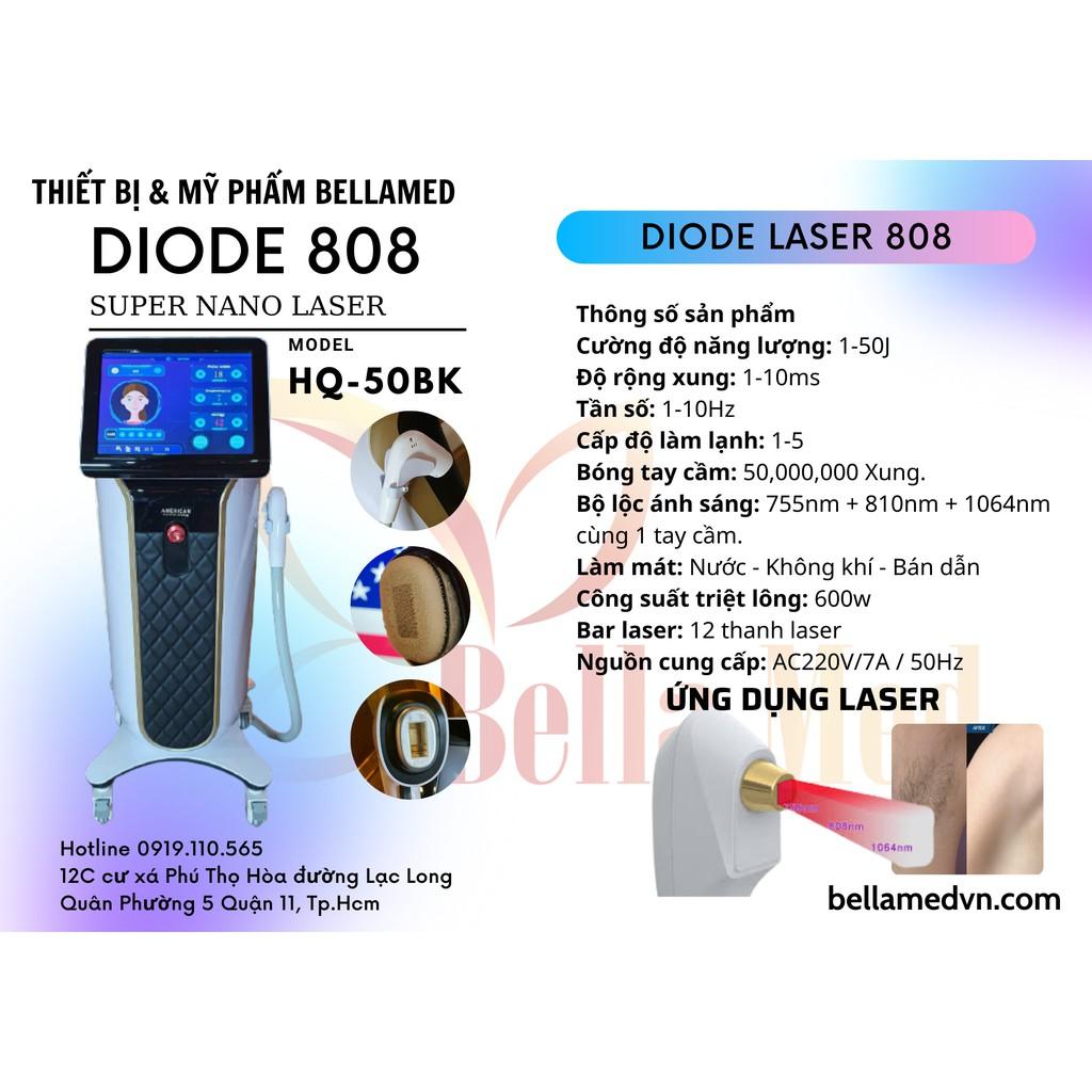 Máy triệt lông Diode laser 808