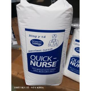 Bông gòn y tế QUICK NURSE 500g - 1kg thumbnail