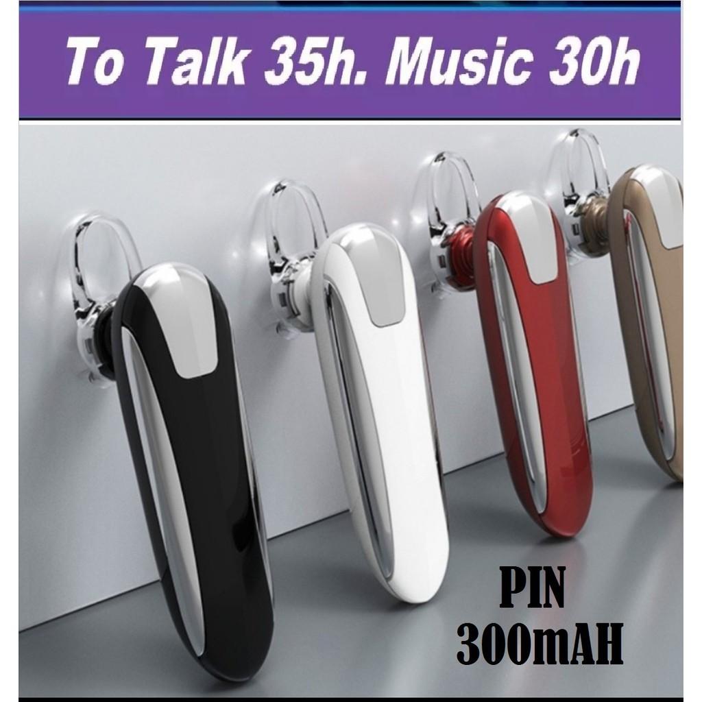 Tai Nghe BLUETOOTH Chống Nước 4.1 phiên bản  X8 (PIN 300mAh, Nghe Nhạc 36h, Đàm thoại 48h) tặng kèm tai phụ