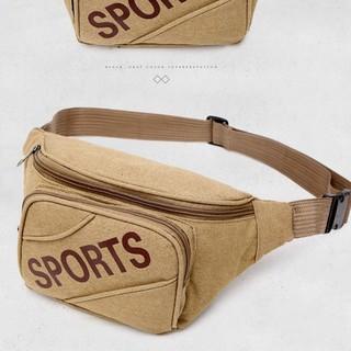 Túi đeo chéo giá rẻ 🎁FREESHIP🎁 giảm 30k khi nhập mã [TUINAM] túi đeo ngang hông sport vàng