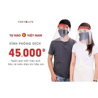 Kính mặt chống giọt bắn cứng TOKYOLIFE bảo vệ mọi người trước đại dịch 3