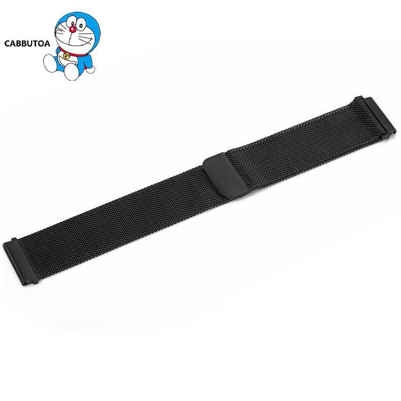 1 Dây Đeo Thay Thế Dạng Lưới Từ Tính Cho Đồng Hồ Thông Minh Xiaomi 22mm
