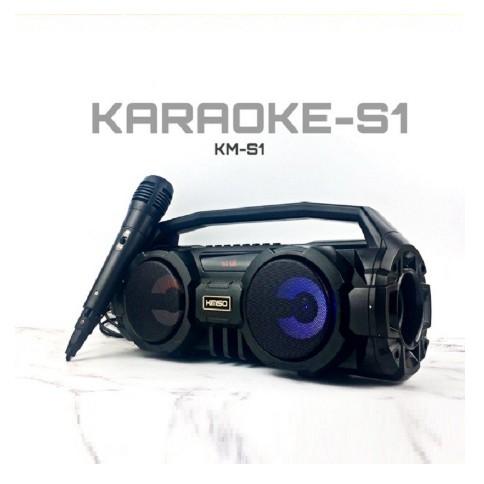 LOA KM-S1.Bluetooth. tặng kèm 1 mic dây